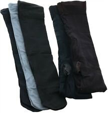 Legacy Set 2 Microfiber Tights& 3 Trouser Socks Navy C NEW A370509