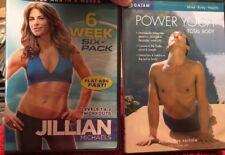 Jillian Michaels: 6 Week Six-Pack And Power Yoga Rodney Yee Total Body