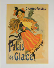 PALAIS DE GLACE POSTER (40x50cm) FRENCH VINTAGE NEW LICENSED ART