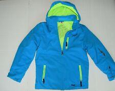 SPYDER Rival Jacket electric blue ski coat boys 16 excellent