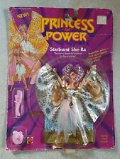 1984 1985 Mattel Princess Of Power Doll Starburst She-Ra NIB & MOC She-ra Shera