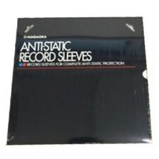 NAGAOKA Record Anti Static Plastic Inner Sleeves 12 RS-LP 50sheets Tracking
