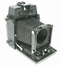 Horseman VH-R 6x9cm Rangefinder Camera w/GG & Rotary Backs & 2 Lenses: 75,105mm.