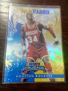 2013-14 Panini Crusade Blue Hakeem Olajuwon #271 Houston Rockets