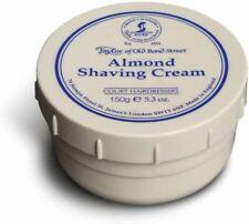 Taylor of Old Bond Street Almond Shaving Cream with Cinnamon Leaf Oil - 150 g