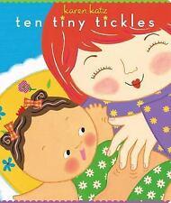 Ten Tiny Tickles by Karen Katz (2008, Board Book)