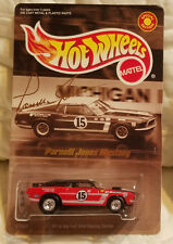 Hot Wheels SPECIAL EDITION Parnelli Jones Ford Mustang MACH I w/ Real Rider Tire