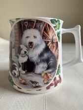 Superior Ceramics Old English Sheepdog Dog, Bone China, Coffee Tea Mug Cup