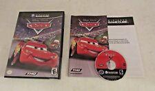 Cars (Nintendo GameCube, 2006) GAME DISC & CASE ~TESTED~ DISNEY PIXAR COMPLETE
