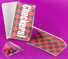 Dollhouse Miniature 1:12 Scale Checkers Game