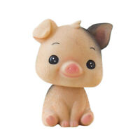 Car Shaking Head Doll Bobble Head Pig Animal Model Car Home Desktop Decor