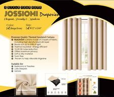 Premium High Quality Thermal Blackout Draperies - 4 Panel pack(INCLUDES SHEERS)