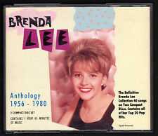 "BRENDA LEE DOPPIO CD ALBUM ""ANTHOLOGY 1956 - 1980"""