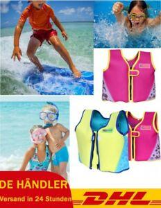 Kinder Schwimmweste Schwimmende Zip Life Jacket Schwimmhilfe Jungen/Mädchen DHL