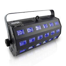 LED-UV Fluter 24x 3W Schwarzlicht Scheinwerfer Blacklight Deko UV Licht Party