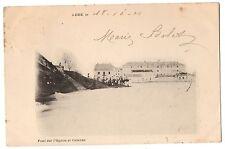 CPA 70 - LURE (Haute Saône) - Pont sur l'Ognon et Caserne - Dos simple