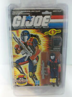 Vintage 1985 Hasbro GI Joe ARAH Cobra VIPERS on Original Card