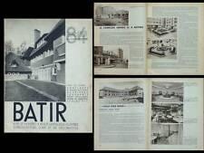 BATIR N°84 1939 ALOST VALCKE ANVERS CRAEYE WOLUWE MORLANWELZ, SAINT IDESBALD
