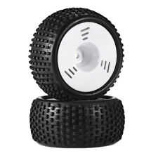 2pc 1/16 Tires Buggy Truck Wheel for HPI HSP Hobao Savage ZDRacing LRP Wltoy