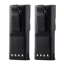 2pcs 1800mAh HNN9628 Battery for MOTOROLA GP-300 PTX600 MTX638 LCS2000 LTS2000
