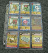 Vintage 1999 Bandai DIGIMON Digital Monsters Card Lot Of 18 Cards 1 is Holo