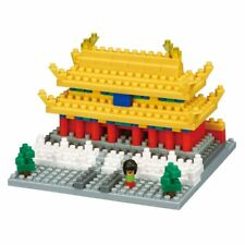 Nanoblock The Forbidden City 290 Pieces Building Blocks Nanoblocks Nano Nbh-145