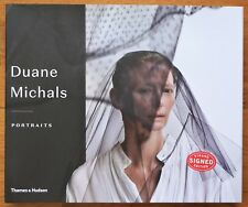 SIGNED - DUANE MICHALS - PORTRAITS - 2018 1ST EDITION & 1ST PRINTING - FINE COPY