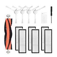 Mop Rollenseitenbürstenfilter-Kits für Xiaomi Dreame F9 Roboter-Staubsauger