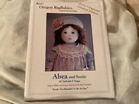 New-KEZI Oregon RagBabies Cloth Doll Pattern-Alsea+Soozie+Outfit & Face Transfer