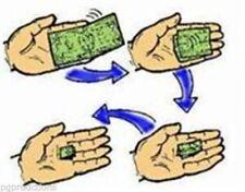 Animated  SELF-FOLDING DOLLAR BILL Close-Up Magic Trick!