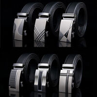 Luxury Automatic Buckle Waistband Belts buckle Waist Strap Leather Belt buckle