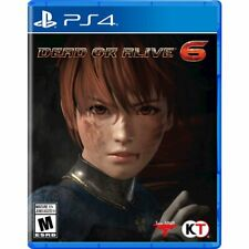 Dead or Alive 6 PS4 BRAND NEW INC Exclusive Pre Order DLC BONUS AND STEEL BOOK!!