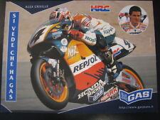 HRC Repsol Honda Team 500cc 1998 #4 Alex Criville (ES) Gas Blue Jeans