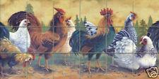 Art Mural Ceramic Countryside Backsplash Bath Tile #400
