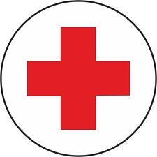 5 Stück  Aufkleber Drk Rotes Kreuz 5 cm