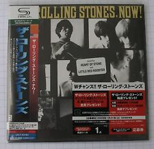 Rolling STONES-Now! GIAPPONE SHM MINI LP CD OBI NUOVO UICY - 93782