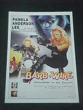 BARB WIRE, film card (Pamela Anderson Lee)