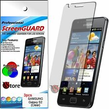 3 Pz. Film Save Screen LCD for Samsung I9100 Galaxy S2 S 2 II