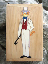 The Cat Returns Baron Hand Paint wood Box Studio Ghibli