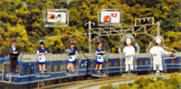 """Kato 24-281 Model People """"Dining Car Staff"""" (N scale)"""