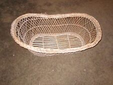 antique wicker baby bassinet