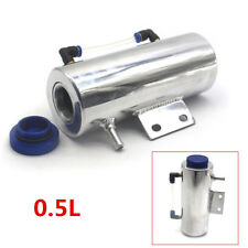 Car Aluminum Overflow Coolant Tank Reservoir Cooling Radiator Water 0.5L Catch