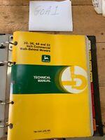 John Deere Technical Manual TM-1305 Commercial Walk-Behind Mowers