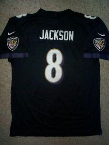 *IRREGULAR* Baltimore Ravens LAMAR JACKSON nfl NIKE Jersey YOUTH KIDS BOYS (xl)