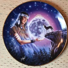 "Franklin Mint Royal Doulton ""Maiden of the Mystical Moon"" Le Plate 1993"