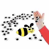 Super Huge Black Googly Eyes - 100 - Craft Supplies - 100 Pieces