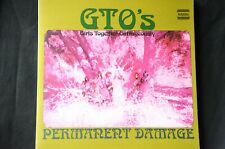 "GTOs Girls Together Outrageously Permanent Damage FOC 12"" vinyl LP New"