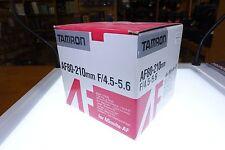 Tamron 80-210mm f/4.5.-5.6 AF Lens For Minolta