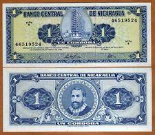 Nicaragua, 1 cordoba, 1968, Pick 115 B-Serie, UNC