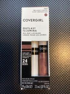 CoverGirl Outlast Illumina All Day Lipcolor  - 760 Twilight Coffee